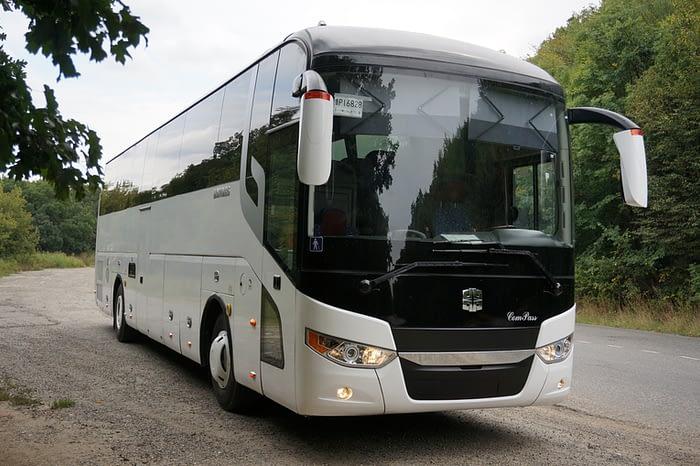 Kompas Bus серебристый (53+1)